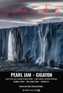 PEARL JAM AND ABRAMORAMA TO HOST GLOBAL GIGATON LISTENING EXPERIENCE IN DOLBY ATMOS