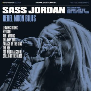 "Announcing the upcoming release of ""Rebel Moon Blues"" by Sass Jordan"