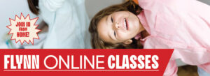 Flynn online classes: Ballet & Tap (level II added) tonight; dance for kids Wednesdays and Fridays; and more