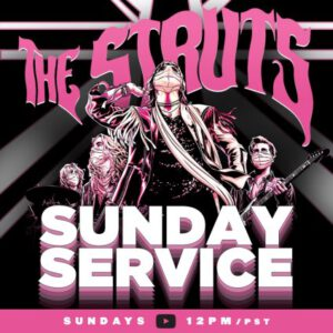 "The Struts Cover ""Stop"" By Spice Girls In First Episode of Sunday Service"