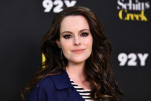 """THE FIRST LIVE-STREAMED SHOW OF """"HUMPDAY WITH HAMPSHIRE"""" HOSTED BY """"SCHITT'S CREEK"""" STAR EMILY HAMPSHIRE"""