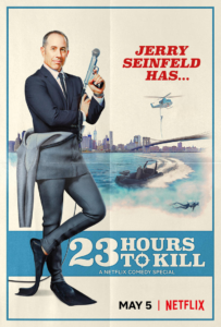 Jerry Seinfeld…Secret Agent?- Netflix releases promo for Jerry Seinfeld: 23 Hours to Kill