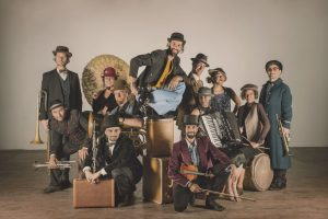 Gypsy Kumbia Orchestra premieres their new album VelkomBak exclusively on Ici Musique
