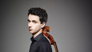 Cellist Stéphane Tétreault performs for the Orchestre classique de Montréal