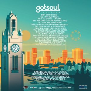 New Mixtapes X Gotsoul Sessions LIVE X NewGS Masks