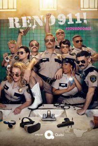 NEW FROM QUIBI – RENO 911!