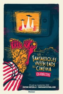 Quebec Cinema at the Fantasia Party from August 20 to September 2