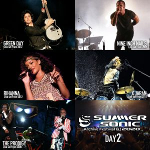 Summer Sonic 2020: Watch Legendary Performances From Green Day, Rihanna, Nine Inch Nails, The Prodigy And X Japan