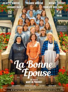 La Bonne Epouse with Juliette Binoche and Yolande Moreau in theaters August 21
