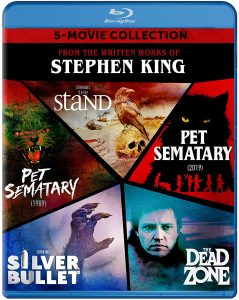 Stephen King 5-Movie Collection – Blu-ray Edition