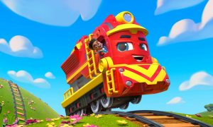 SPIN MASTER'S MIGHTY EXPRESS™ TRAILER DEBUT
