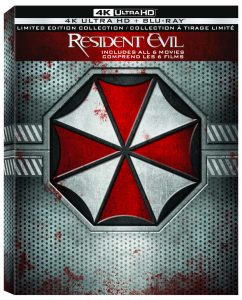 SONY PICTURES HOME ENTERTAINMENT Releases THE RESIDENT EVIL Collection On 4K ULTRA HD™