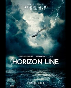 HORIZON LINE – Official Trailer, Poster and First Look Image Now Available!
