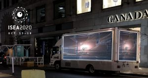A secret digital arts truck will be driving around Montreal all next week! < MTL > connect + ISEA2020 (Oct 13–18)