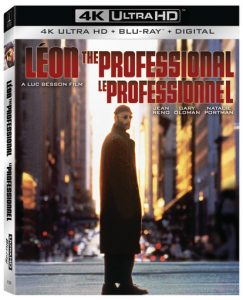 SONY PICTURES HOME ENTERTAINMENT New Release – LEON: THE PROFESSIONAL NATIONAL STEELBOOK UHD