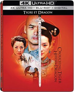 SONY PICTURES HOME ENTERTAINMENT New Release – CROUCHING TIGER HIDDEN DRAGON: 20TH ANNIVERSARY NATIONAL STEELBOOK UHD