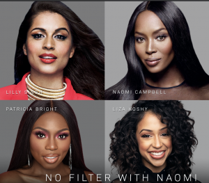 NAOMI CAMPBELL ANNOUNCES PATRICIA BRIGHT, LILLY SINGH AND LIZA KOSHY AS GUESTS ON YOUTUBE EXCLUSIVE SERIES