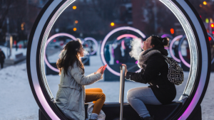 Loop Makes a Triumphant Return: the Giant Bright Wheel's Return to Place des Festivals