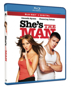 She's The Man arrives on Blu-ray for the First Time March 2, 2021 from Paramount Home Entertainment