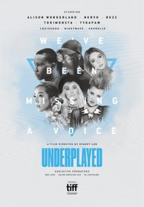 DOCUMENTARY 'UNDERPLAYED' TO HAVE ON DEMAND STREAMING RELEASE ON AMAZON PRIME VIDEO ON MONDAY, MARCH 8 – INTERNATIONAL WOMEN'S DAY