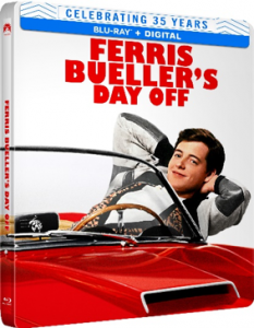 FERRIS BUELLER'S DAY OFF arrives on Limited-Edition Blu-ray Steelbook on June 8, 2021 from Paramount Home Entertainment