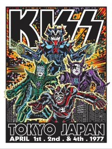 ECHO releases KISS limited edition print series by Frank Kozik – available 3/19/21