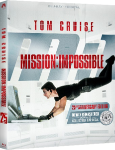 MISSION: IMPOSSIBLE celebrates its 25th anniversary with a newly remastered Collector's Edition Blu-ray