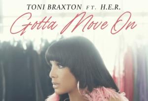 """TONI BRAXTON'S """"GOTTA MOVE ON"""" #1 ON BILLBOARD ADULT R&B CHART"""
