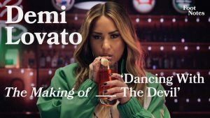"""Demi Lovato goes behind the scenes of """"Dancing With The Devil"""" music video 