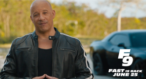 F9 | Return To Theaters – A Message from Vin Diesel