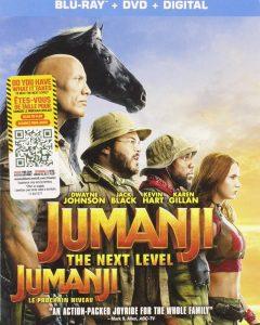Jumanji: The Next Level – Blu-ray/DVD Combo Edition