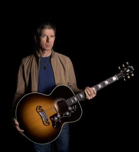 Noel Gallagher Gibson J-150, Noel's Go-To Acoustic Guitar For Over 20 Years, Available Worldwide Now on Gibson.com