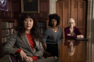 """NETFLIX UNVEILS SNEAK PEAK OF ALL-NEW COMEDY """"THE CHAIR,"""" STARRING SANDRA OH AND DEBUTING AUG. 20"""