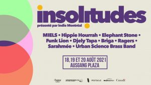 Concert series The Insolitudes to include 3 nights of music at Ausgang Plaza on August 18, 19 and 20