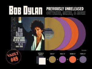 Third Man announces Vault Pkg. #49: Bob Dylan – Springtime In New York: The Bootleg Series, Vol. 16 (1980-1985)
