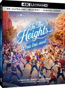 In the Heights – 4K HD Ultra/Blu-ray Combo Edition