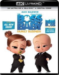 Boss Baby: Family Business – 4k Ultra HD/Blu-ray Combo Edition