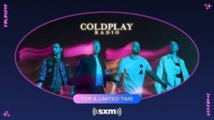 Coldplay Radio returns exclusively to SiriusXM
