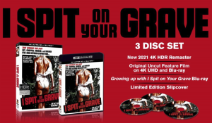 I SPIT ON YOUR GRAVE (1978) – JENNIFER HILLS RETURNS WITH A VENGEANCE IN 4K THIS HALLOWEEN