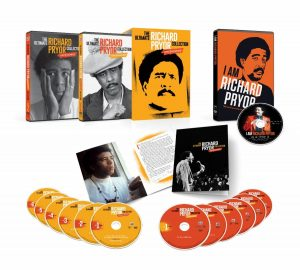 THE ULTIMATE RICHARD PRYOR COLLECTION: UNCENSORED, a Jam-Packed 13-Disc Collector's Set Available for the Very First Time, Arrives on September 28 from Time Life