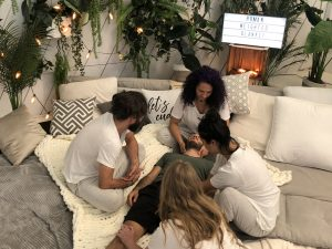 World Mental Health Day | Montreal Artivist's 'Cuddle Therapy' Event & Video to Offer Relief of Pandemic Mental Health Suffering: HUMAN WEIGHTED BLANKET