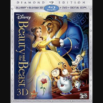 Beauty and the Beast 3D: Diamond Edition – Blu-ray Edition