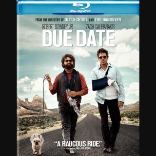 Due Date – Blu-ray Edition