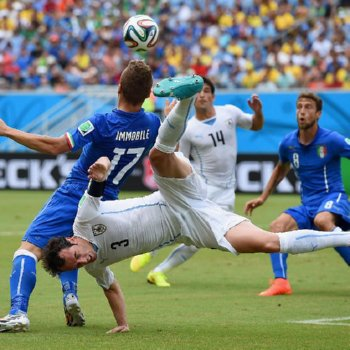 World Cup 2014: Italy vs. Uruguay @ Natal – June 24, 2014