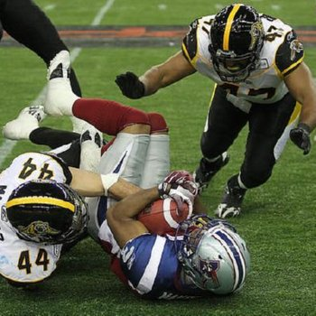 CFL 2011 Eastern Semi-Finals – Montreal Alouettes vs. Hamilton Tiger Cats – November 13, 2011 @ Olympic Stadium