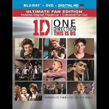 One Direction: This Is Us – Blu-ray/DVD Combo Edition