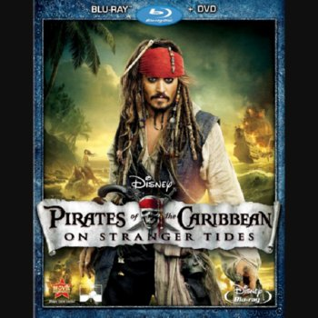 Pirates of the Caribbean: On Stranger Tides – Blu-ray/DVD Combo Edition