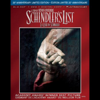 Schindler's List: 20th Anniversary Limited Edition – Blu-ray/DVD Combo Edition