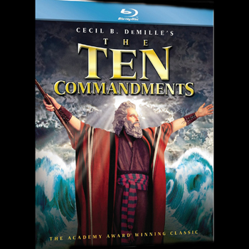 The Ten Commandments: 2-Disc Edition – Blu-ray Edition