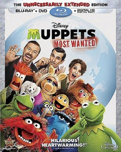 Muppets Most Wanted: The Unnecessarily Extended Edition – Blu-ray/DVD Combo Edition